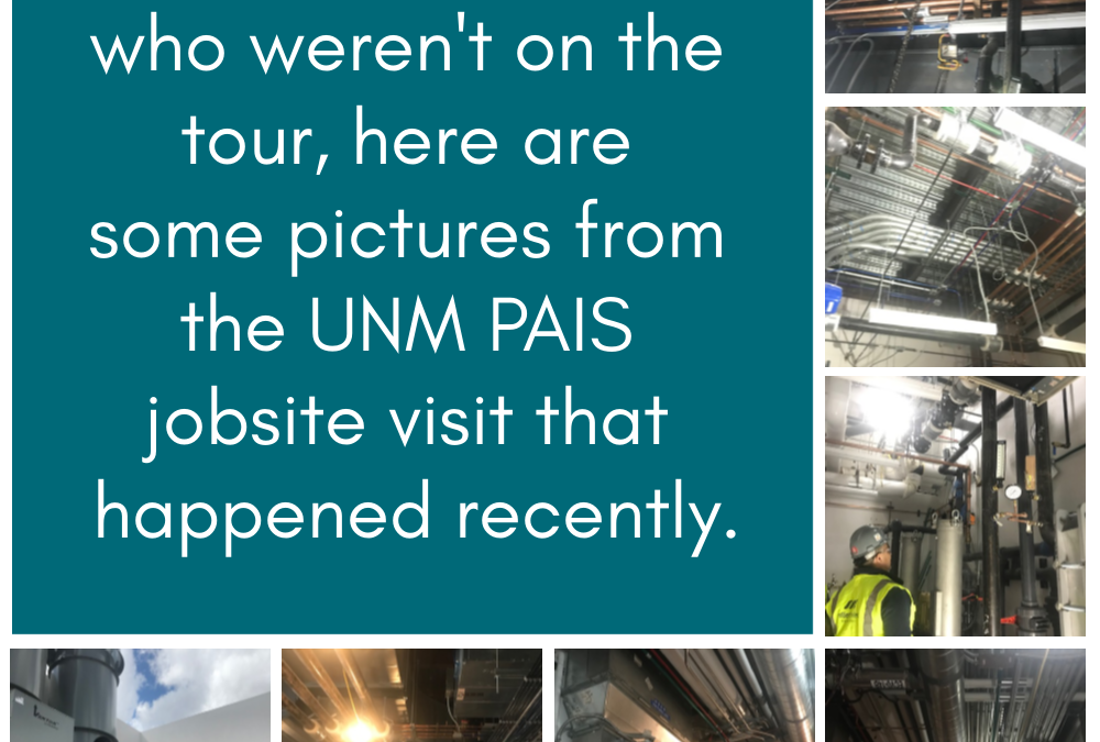 UNM PAIS Jobsite Tour